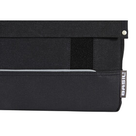 Basil Urban Fold Doppeltasche schwarz